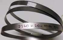 Pilový pás na kov 2490x20 WIKUS VARIO M42 - ozubení 10/14 - jemné
