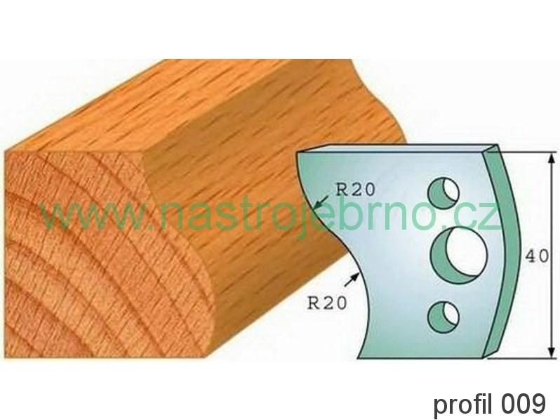 Profilový nůž 009 PILANA