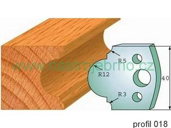 Omezovač profilových nožů 018 PILANA