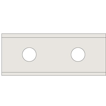 IGM N011 Žiletka tvrdokovová Z2 - 40x12x1,5 UNI