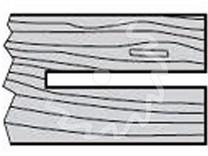 Fréza na dřevo čepovací KARNED 2850 250x30-14 - profil