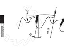 SK pilový kotouč na podélné řezání dřeva s omezovačem třísky - typ zubu