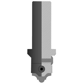 CMT C616 Fréza na CNC profilování, tělo bez nožů