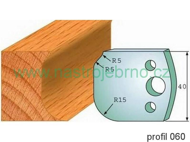 Omezovač profilových nožů 060 PILANA