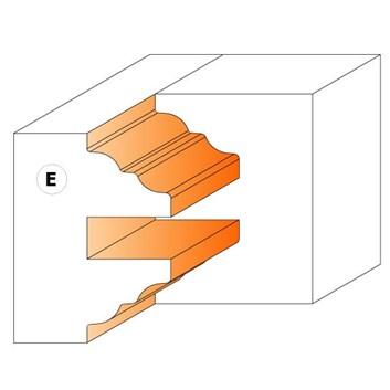 CMT Nůž pro C694015 - pár žiletek E2 25x29,8x2mm
