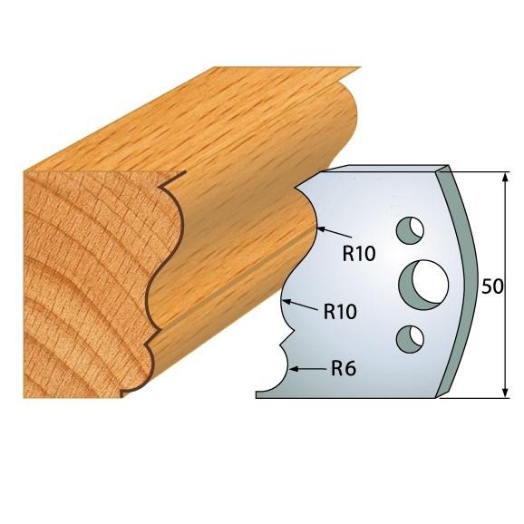 pár nožů 50x4mm SP - profil 506