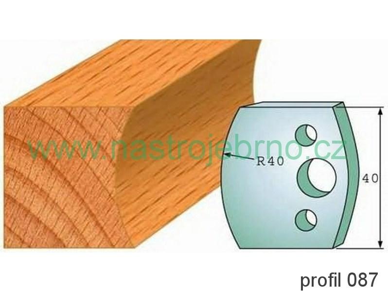 Omezovač profilových nožů 087 PILANA