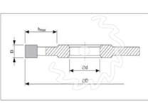 Fréza na dřevo drážkovací KARNED 5010 - nákres