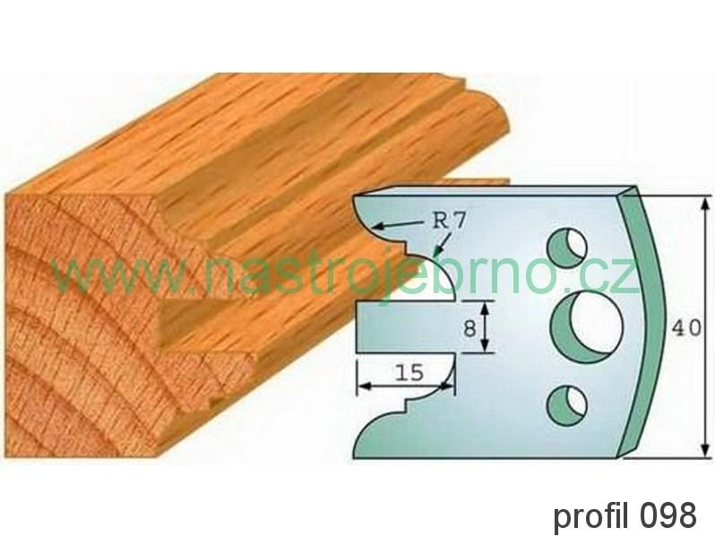 Profilový nůž 098 PILANA