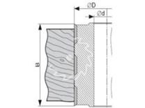 Fréza falcovací-spirálová KARNED 5135 100x80-30 - nákres