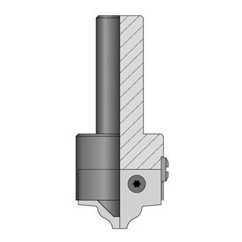 CMT C615 Profilová fréza typ C S=20mm