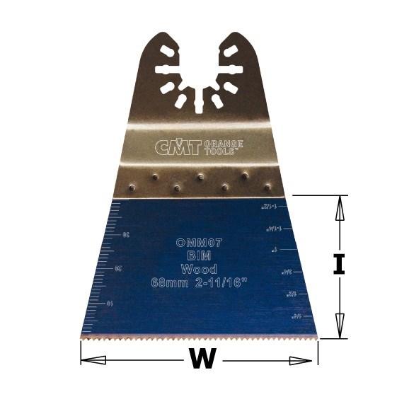 CMT Ponorný pilový list s prodlouženou životností BIM, na dřevo