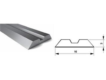 Nůž CENNTROLOCK 50 - HSS 18%W pro falcovací frézu KARNED 3520