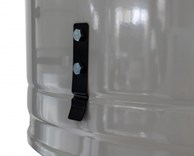 Odsavač pilin ADAMIK FT403SF - spona pro uchycení odpadních pytlů