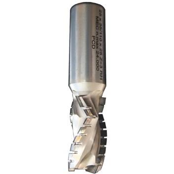 IGM Fachmann Diamantová spirálová fréza pozitivní Z3 D20x35 L100 S=20x50 H4