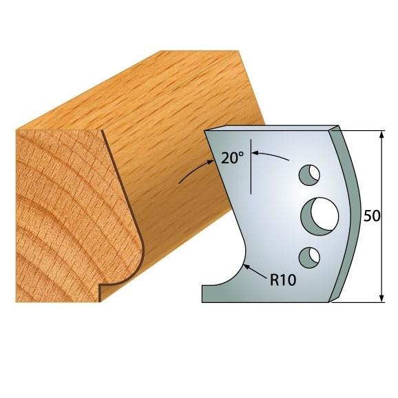 IGM profil 575 - pár nožů 50x4mm SP