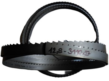 Pilový pás na dřevo bimetal 3200x27x0,9 - t=12,8 PILOUS