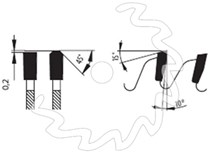 SK pilový kotouč na lamino PILANA