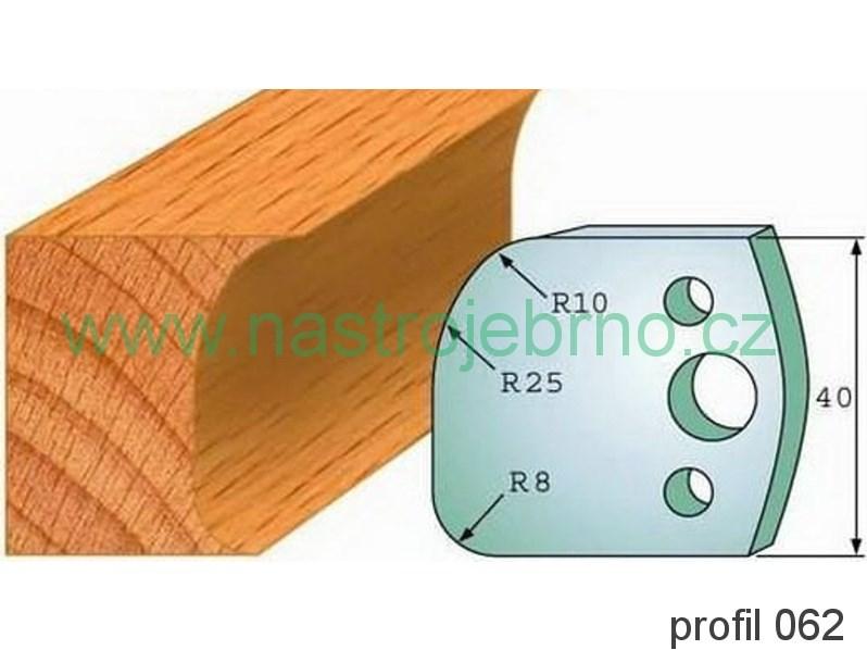 Omezovač profilových nožů 062 PILANA
