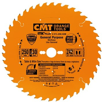 CMT ITK Ultra tenký kotouč univerzální - D216x1,8 d30 Z36 HM