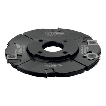 CMT Stavitelná drážkovací fréza 3dílná - D160x4-15 d50 Z4+4 MAN