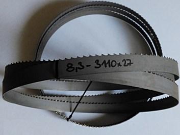 Pilový pás na dřevo bimetal 3340x27x0,9 - t=8,3 PILOUS