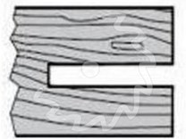 Fréza na dřevo drážkovací KARNED 3381 stavitelná - profil