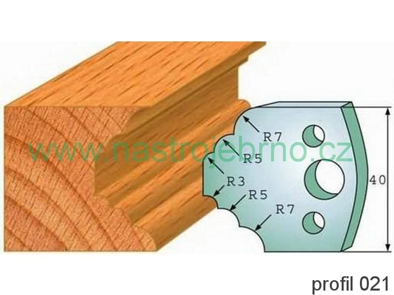 Omezovač profilových nožů 021 PILANA