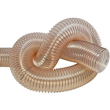 Odsávací hadice průhledná pro 100mm hrdlo - 5m délka