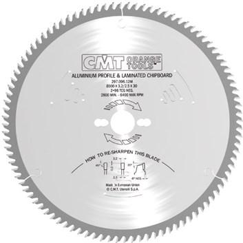 CMT Pilový kotouč na lamino, plast a neželezné kovy - D160x2,2 d20 Z56 HM
