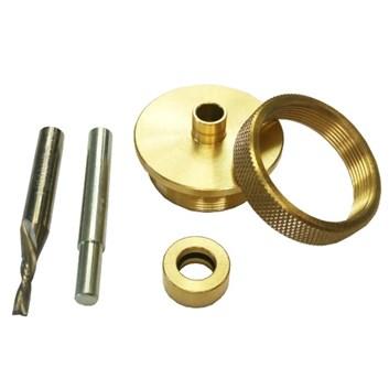 CMT Kopírovací pouzdro se spirálovou frézou 3,2mm HWM
