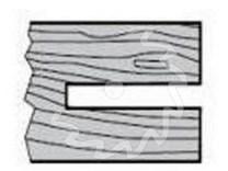 Fréza na dřevo drážkovací, stavitelná KARNED 2650 - profil