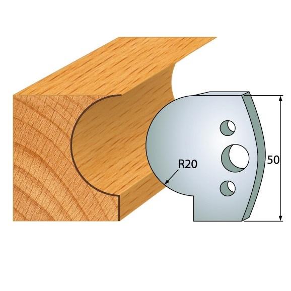 IGM profil 562 - pár nožů 50x4mm SP