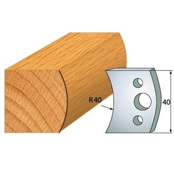 IGM profil 008 - pár nožů 40x4mm SP