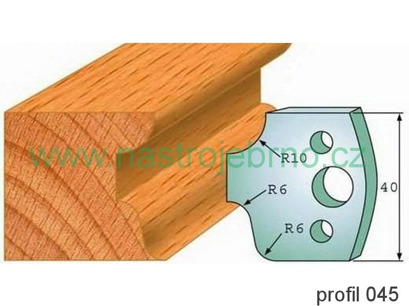 Omezovač profilových nožů 045 PILANA