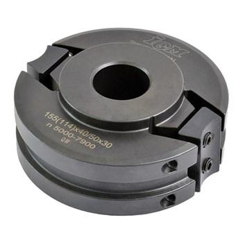 Univerzální frézovací hlava IGM MEC - D120x40-50 d30 OCEL