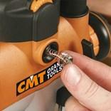 CMT 7E Horní frézka 2400 W, kleština 8 a 12mm