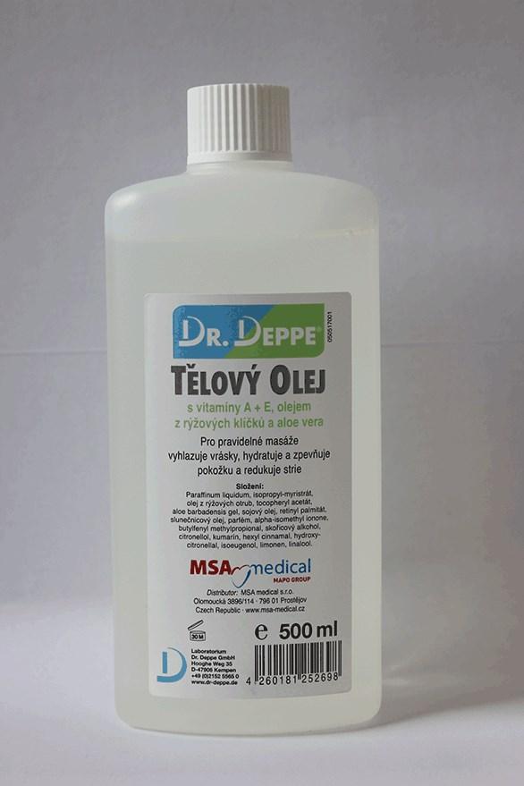 Dr. Deppe Tělový olej s vit. A+E, 500ml