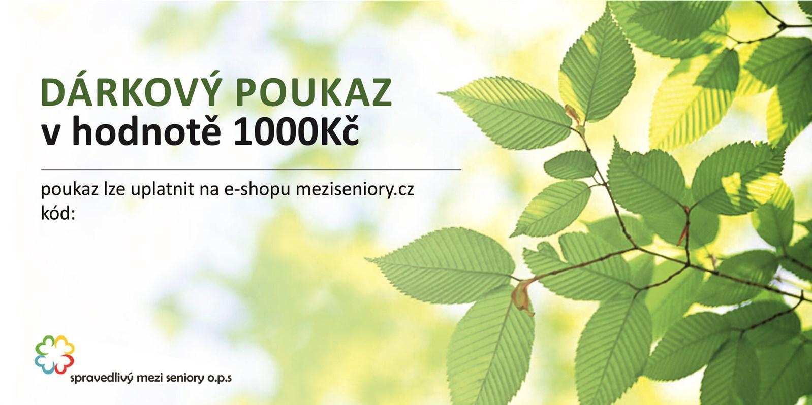 Voucher 1000,-Kč