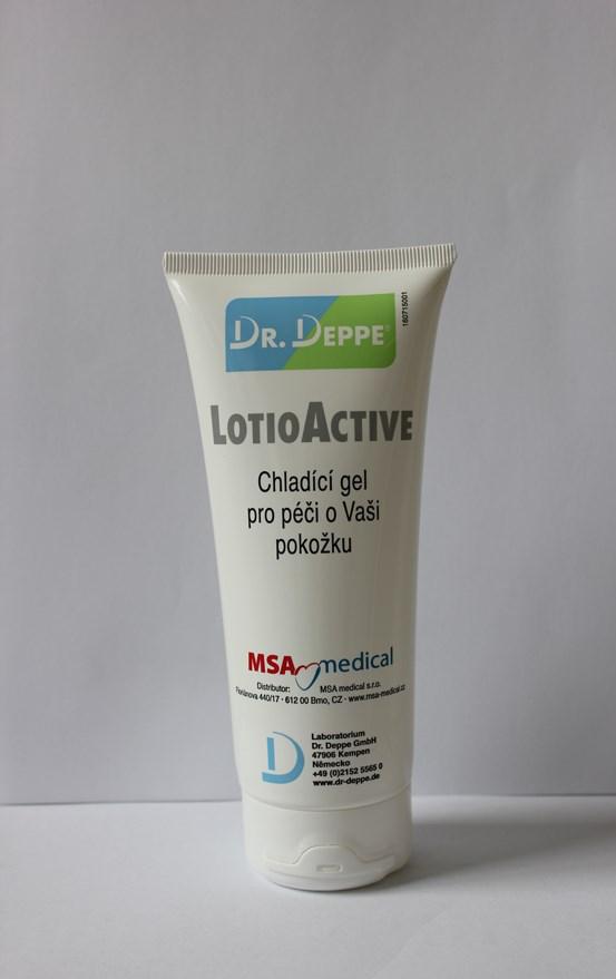 LotioActive chladící gel pro péči o pokožku