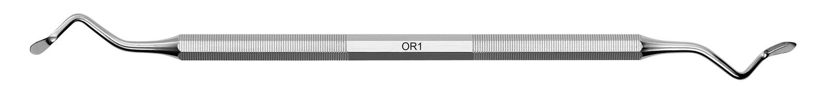 Oboustranný parodontální nůž Orban - OR1, ADEP červený