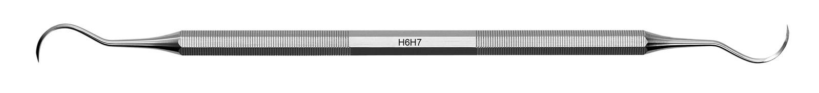 Scaler univerzální - H6H7, Bez návleku