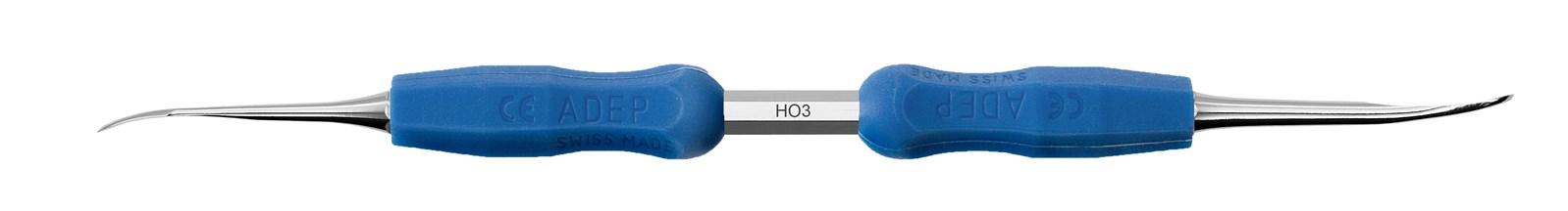 Periosteální elevator - HO3, ADEP tmavě modrý