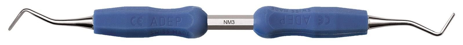 Lžičkové dlátko - NM3, ADEP světle modrý